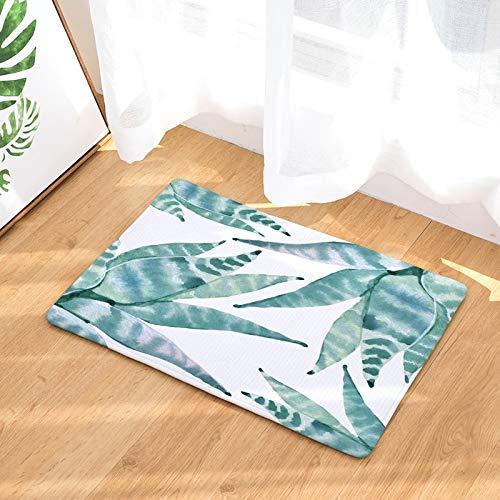 OPLJ Alfombra de Estilo Tropical para el hogar Cactus Kitsch Alfombra Absorbente de gallina Alfombras de baño Antideslizantes Decoración del hogar Alfombra Interior A7 50x80cm