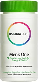 Rainbow Light Men's One Multi-Vitamin, 150 Count