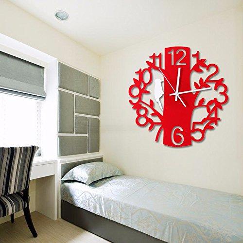 guazzbbia Moderne minimalistische kunst stum mode creatieve digitale klok klok wandklokken decoratieartikelen digitale wekker