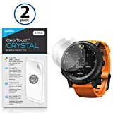 Suunto Core Screen Protector, BoxWave [ClearTouch Crystal (2-Pack)] HD Film Skin - Shields from Scratches for Suunto Core