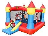 Happy Hop Ancora più grande e colorato del Big Clown, Castello XXL lo è di nome e di fatto! Presenta la più ampia superficie per saltare, corredata da un piccolo scivolo centrale, che lo rende adatto per grandi e piccini.