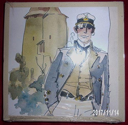 Pochette 6 Cartes 6 enveloppes : Corto Maltese d'après les Helvetiques de Hugo Pratt