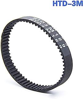 Width: 10mm, Length: HTD3M-210-70T Ochoos Timing Belt HTD 3M-210//213//216//219//222//225//228//231//234//237mm Pitch Length Rubber Driver Belts for 3M Timing Pulleys 2PCS