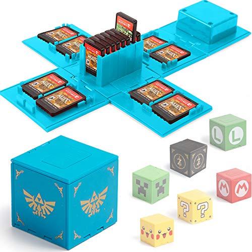 BAYINBROOK Funda de Juego, Compatible para Nintendo Switch Compatible con hasta 16 Juegos de Nintendo Switch...