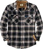 Legendary Whitetails Men's Standard Shotgun Western Flannel Shirt, Outlaw Plaid, Large