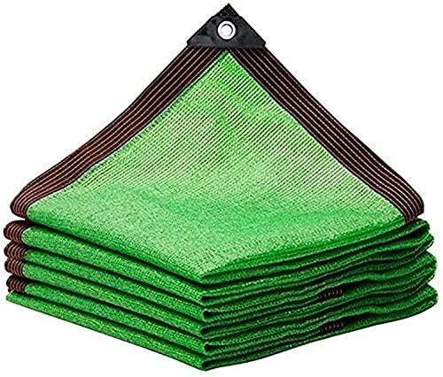 Toldos Impermeables Exterior Neto de la sombra verde, red de protección solar, cifrado grueso de la sombra de la sombra, el patio de la casa del coche de la casa de la planta de la planta de la planta
