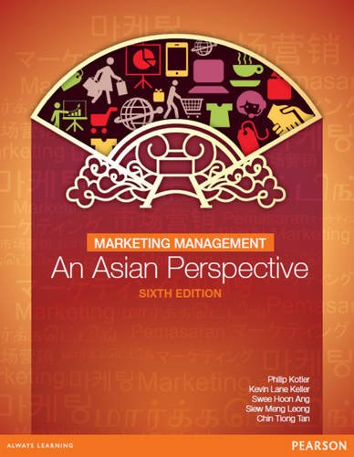 Marketing Management: an Asian Perspective