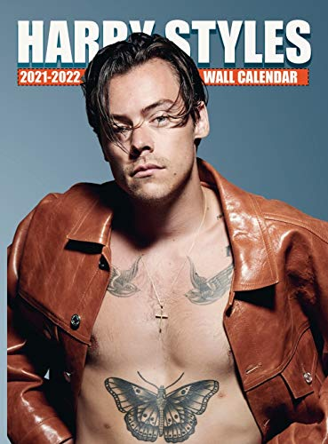 HARRY STYLES Calendar 2021-2022: EXCLUSIVE Harry Styles Photos (8.5x11 Inches Large Size) 18 Months Wall Calendar