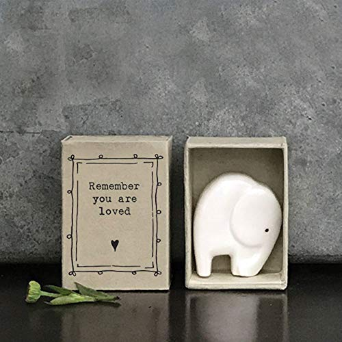 East of India: Porcelain Elephant - You Are Loved