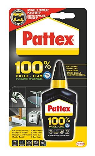Pattex 100{5cd399b3bfabeee27e5cd7581b2729ea522ca3deb446cbb457675007879e3df4} Kleber, 50°g