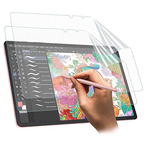 TiMOVO Matte Bildschirmschutzfolie Kompatibel mit Galaxy Tab S7, 2 PCS Anti Reflex Schutzfolie Bildschirmschutz Kompatibel mit Samsung Galaxy Tab S7 - Bereift