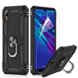 LeYi for Huawei Y5 2019 Case with Magnetic Ring Holder,