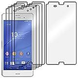 ebestStar - Pack x5 Protector Pantalla Compatible con Sony Xperia Z3 D6603 Películas Flexibles Anti...