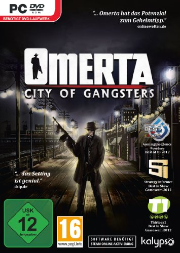 Omerta - City of Gangsters - [PC]