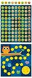 Carson Dellosa Owls Mini Incentive Charts (148009)