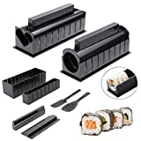 Sushi Maker Kit 10 TLG Komplett Sushi Making Kit DIY Sushi Set Für Anfänger Easy...