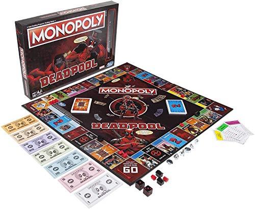 Monopoly Deadpool Marvel Heroes - Juego de mesa [versión francesa]