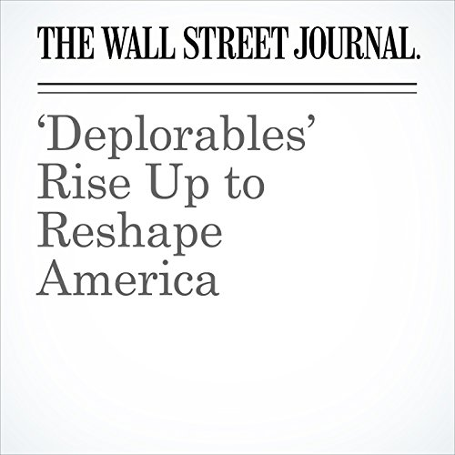 'Deplorables' Rise Up to Reshape America audiobook cover art