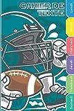 Cahier de texte garçon: Cahier de texte 2021 2022 Rugby Football Américain Sport Organiser la Nouvelle Année & Rentrée Scolaire Cahier de texte 2021 ... Lycée Cp Ce Cm Format Pratique pour Cartable