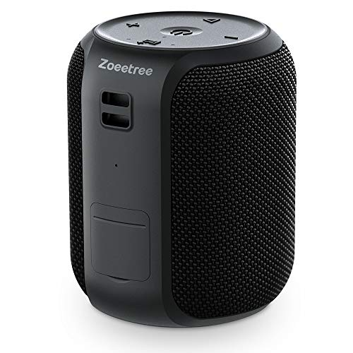 Portable Bluetooth Speaker, ZoeeTree S12 Mini Bluetooth Speakers, 360° TWS HD Surround Sound, 16W Rich Bass, 100 Ft Wireless Bluetooth Range, IPX7 Waterproof, 28 Hour Playtime