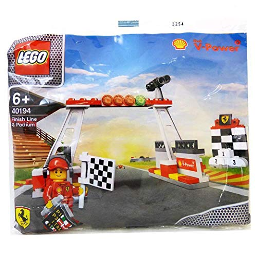 LEGO Shell V-Power Collection Finish Line & Podium Set 40194 Exclusive