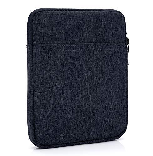 """MyGadget Bolsa de Nylon de 6"""" para E-Reader/E-Book/Smartphone - Estuche Alcochado para Amazon Kindle Paperwhite/Voyage/Oasis/Kobo - Azul Oscuro"""