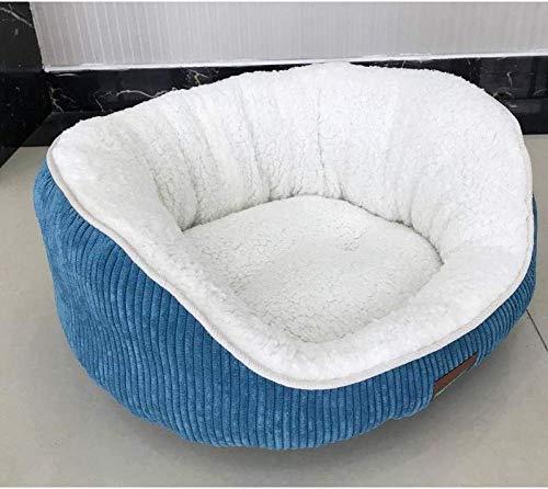 ZXL Hondenbed, zacht en warm, voor kleine honden, slaapzak, voor katten, hondenkussen, dikke pluche, voor huisdieren, hondenbed