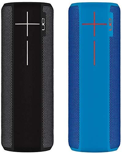 Ultimate Ears Boom 2 - Altavoz portátil individual (Bluetooth, 360 grados, impermeable, 15 horas de batería, resistente a golpes), Negro/Azul