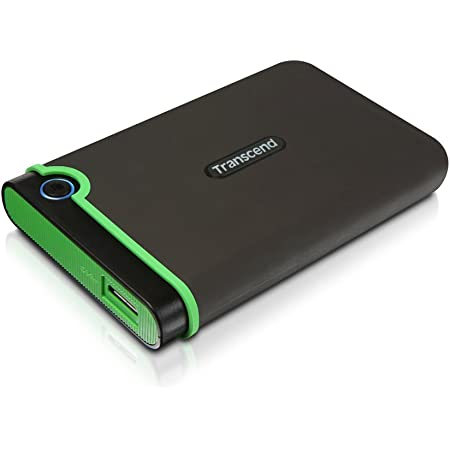 旧モデル Transcend USB3.0/2.0 2.5インチ ポータブルHDD 耐衝撃 M3シリーズ 2TB 3年保証 TS2TSJ25M3