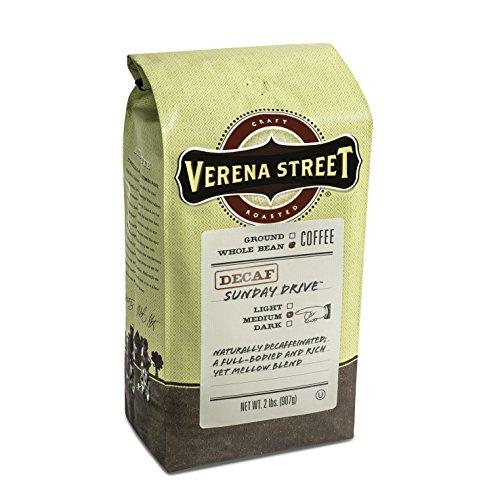 Verena Street Sunday Drive Decaf Medium Roast Beans