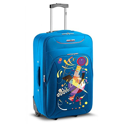 Roncato Ciak Trolley para portátiles FRENCH BLUE TROLLEY MEDIO