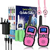 Wishouse 2-Pack Rechargeable Walkie Talkies