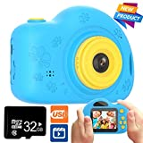 Toys for 3-8 Year Old Boys and Girls Kids Camera Shockproof Digital Cameras for Child Boys Girls,...