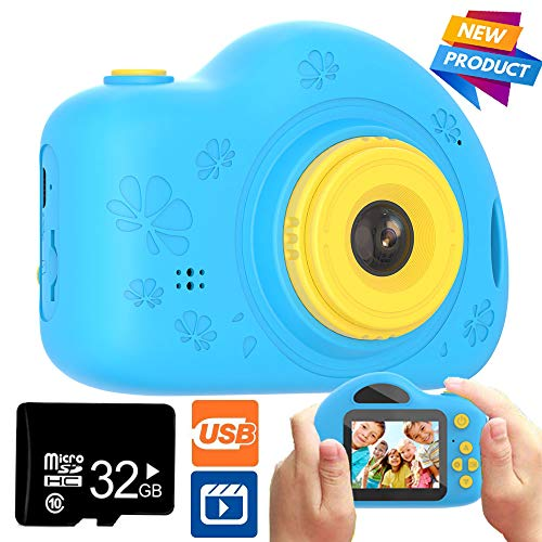 Toys for 3-8 Year Old Boys and Girls Kids Camera Shockproof Digital Cameras for Child Boys Girls, Compact Camcorder Best Birthday Festival Gifts for Kids