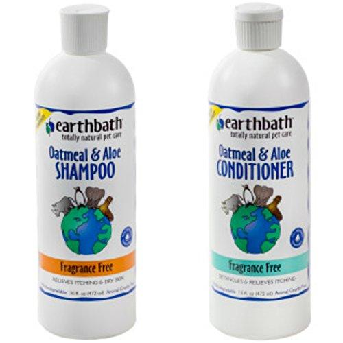 Earthbath Oatmeal & Aloe Fragrance-Free Dog & Cat Shampoo