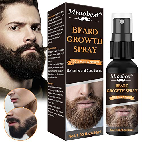 Beard Growth Oil, Beard Oil, Beard Care Oil, Essential oil for men's beard growth, Beard protection and repair and plaque filling, Facial hair enhancer