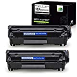 JARBO Compatible Toner Cartridges Replacement for HP 12A Q2612A,...
