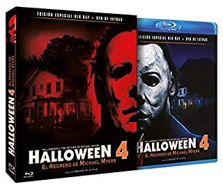Halloween 4 - El Regreso de Michael Myers BD + DVD de Extras 1988 Halloween 4: The Return of Michael Myers [Blu-ray] (B07KP749VV) | Amazon price tracker / tracking, Amazon price history charts, Amazon price watches, Amazon price drop alerts