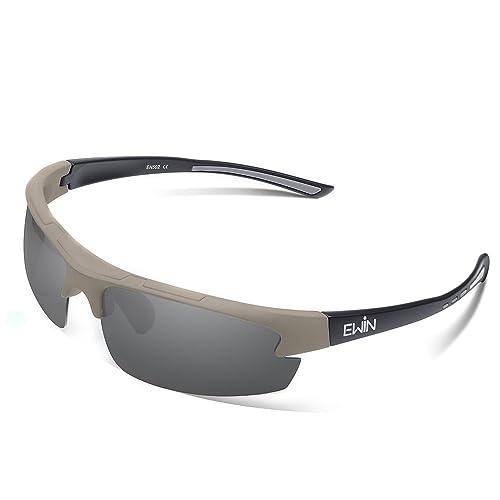 98022bcba8 Ewin E52 Polarized Glasses Sports Sunglasses for Men Women Baseball Golf  Driving Fishing Cycling Running