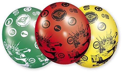 Riethmüller - 450257 - Décoration de Fête - 5 Ballons Latex Cars