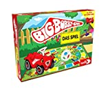 Noris NOR13790 BIG-BOBBY-CAR, Das Spiel - ein lustiges Würfel-Rennspiel...
