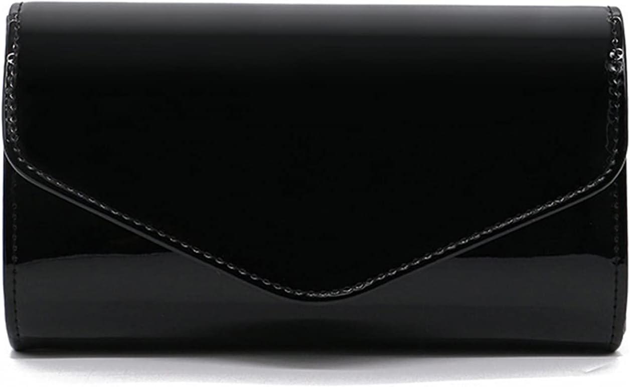 MKOIJN Clutch Purses for Women Wedding Evening Handbags Wedding Birthday Dinner Shoulder Bag for Women (Color : Black)