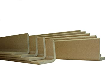10 Kantenschutzleisten Schutzwinkel Kantenschutzwinkel Eckenschutz Verpakung Karton 1000x35x35 mm