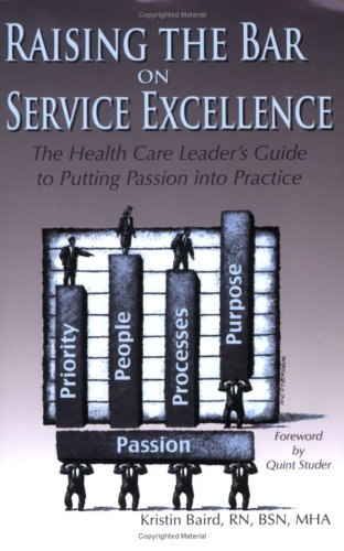 Raising the Bar on Service Excellence: The Health Care Leader's Guide to Putting Passion into Practice