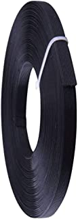Polyester Boning for Sewing, 1/2 Inch x 10 Yard Sew Through MaxPro Boning for Corsets, Nursing Caps, Bridal Gowns, Evening Gowns, Lingerie, Swimwear, Hats, Handbags, Plush Toys and More-Black