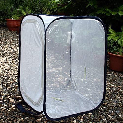 NITRIP Insektenkäfig Insektenkäfig Insektenhülle Atmungsaktives Maschentuch Zuchtkäfig Insektenkäfig Ca. 60 x 60 x 90 cm Topfpflanzen und Insekten