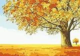 JHGJHK Arte Paisaje Pintura al óleo árbol Grande Planta Paisaje Pintura Sala de Estar Dormitorio decoración Pintura (Imagen 14)