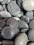 Der Naturstein Garten 5 kg polierte Kieselsteine 2,5-5 cm - Glanzkies Hot Stone Dekosteine Flusskiesel - Lieferung KOSTENLOS