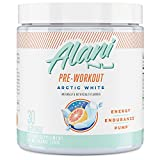 Alani Nu Pre-Workout Supplement Powder for Energy, Endurance, and Pump, Arctic White, 30 Servings (Packaging May Vary)