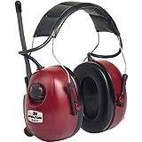 3M PELTOR HRXS7A-01 Orejeras con radio FM estéreo 32dB rojas (1 orejera/caja)